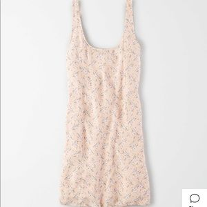 AE SCOOP NECK MINI SLIP DRESS - With tags